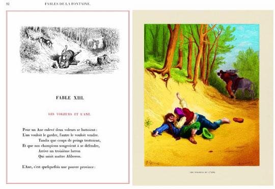 extrait Les Fables de La Fontaine
